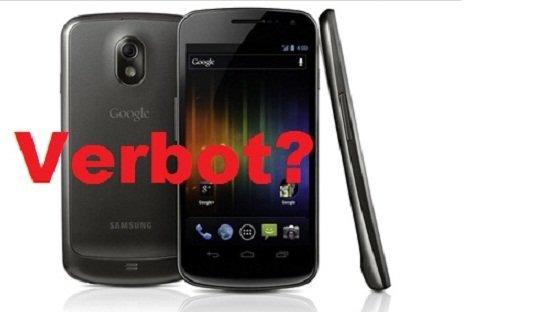 Apple möchte das Galaxy Nexus aus dem Verkauf ziehen