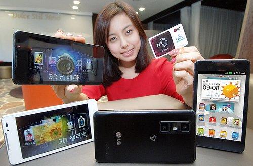 LG kündigt Optimus 3D Cube an