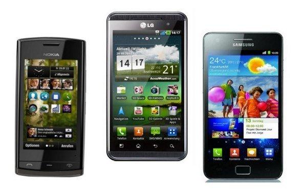 Smartphone-Besitzer bevorzugen größere Displays