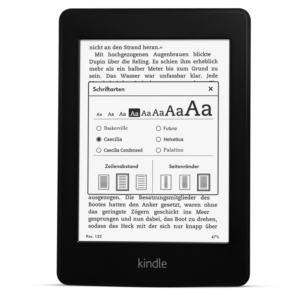 Kindle_Paperwhite_Front_Text_und_Schriftgroesse