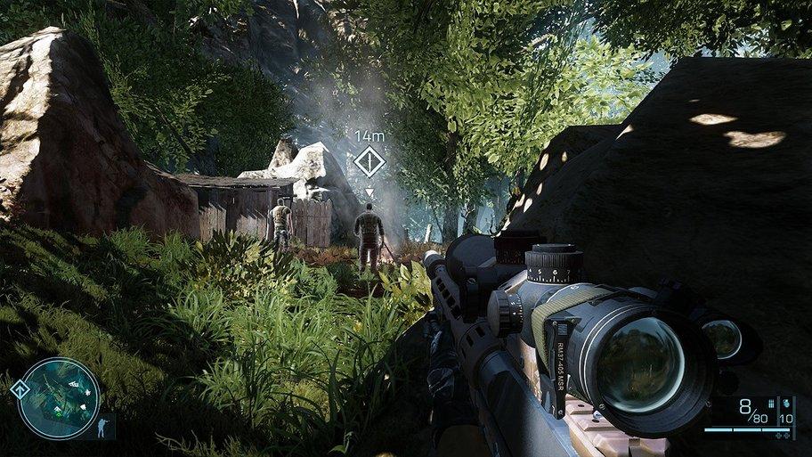 Sniper - Ghost Warrior 2: Wer so nah einen Abschuss plant, sollte sich auf die Reaktion vorbereiten