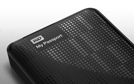 Portabler Massenspeicher: WD My Passport jetzt bis zu 2 TB groß