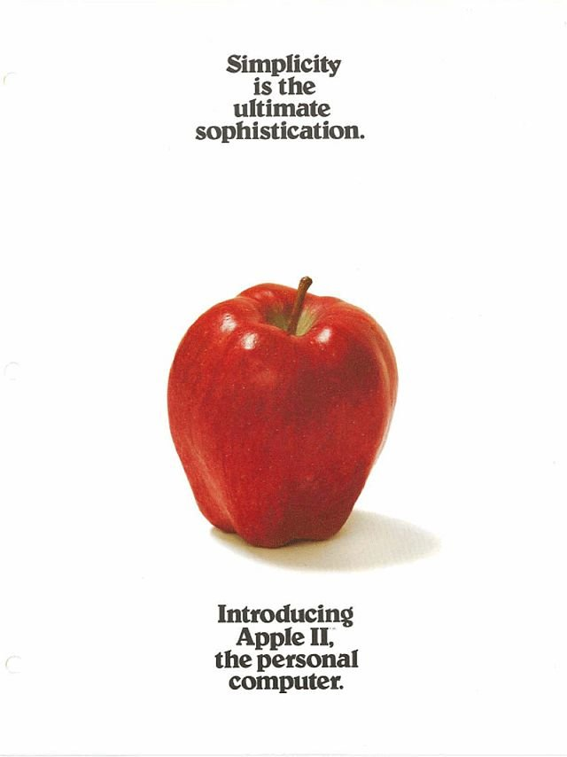 Apple Ad 1977