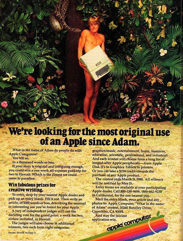 Apple Ad 1979