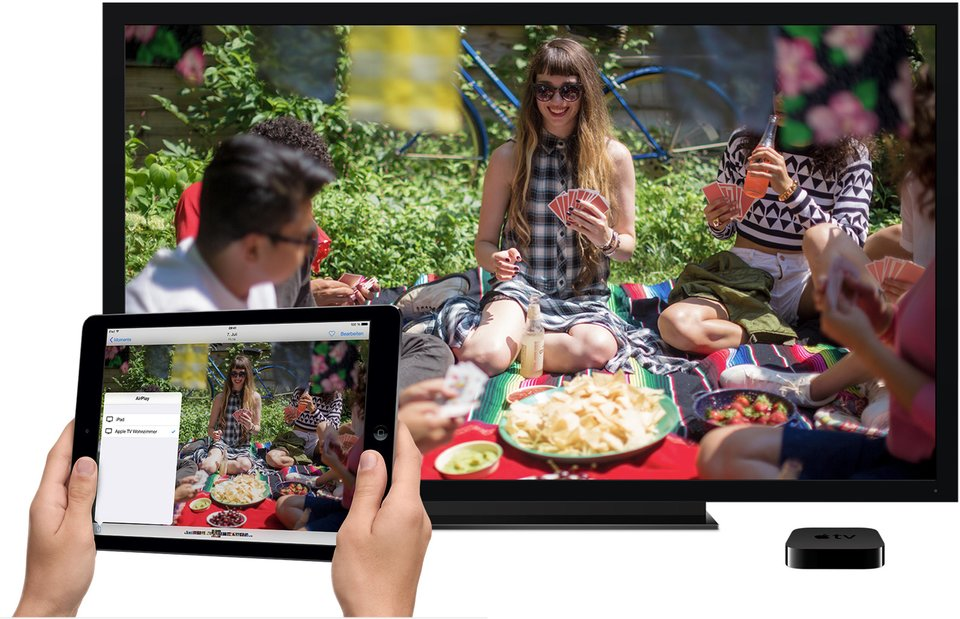 Apple TV iCloud Fotostream