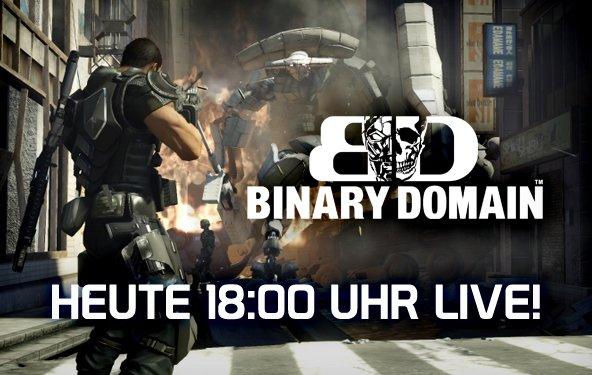 LIVE Gameplay - Binary Domain