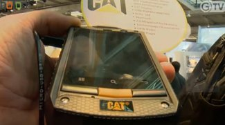 CeBIT 2012: CAT Outdoor Smartphone mit Android