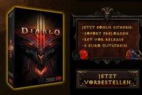 Diablo 3 Vorbesteller-Aktion:<b> für 44,99 Euro vorbestellen und zusätzlich 5 Euro D3 Item Gutschein sichern</b></b>