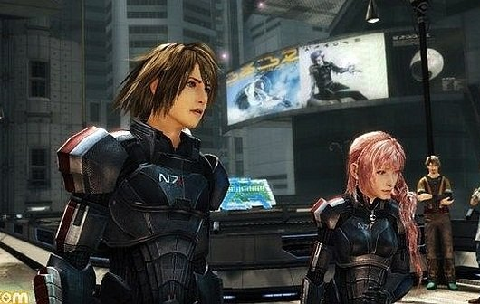 Final Fantasy XIII-2: Mass Effect 3-DLC incoming