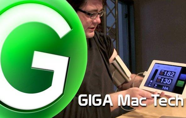 GIGA Mac Tech Folge 2: Jawbone, Mediathek + Blutdruckmessgerät
