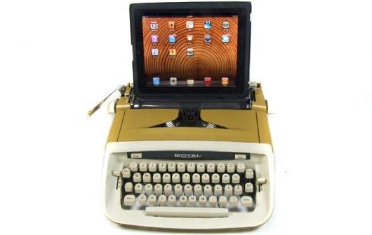 Retro-Kult: Schreibmaschine mit iPad selberbauen
