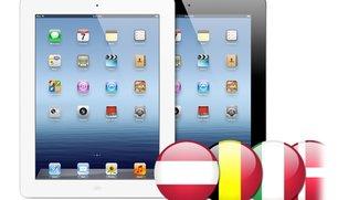 iPad 3: Verkaufsstart Österreich, Belgien, Italien...