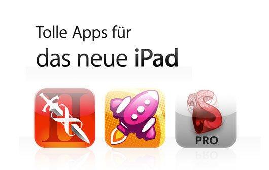 iPad 3 Retina Apps