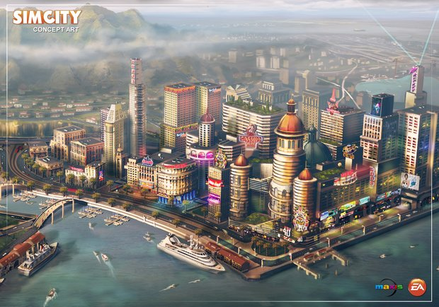 SimCity: Die GlassBox Engine im Video