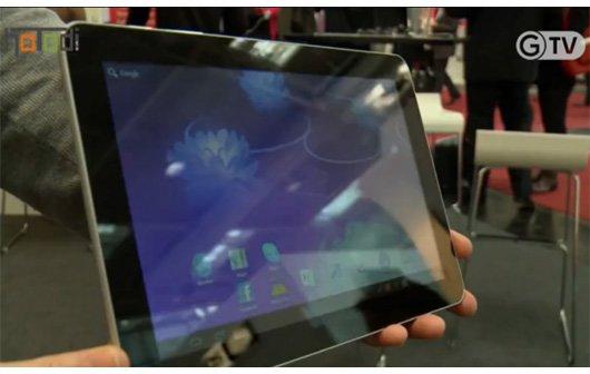 CeBIT 2012 - Smartbook Tablet mit Nvidia Tegra 3 und ICS