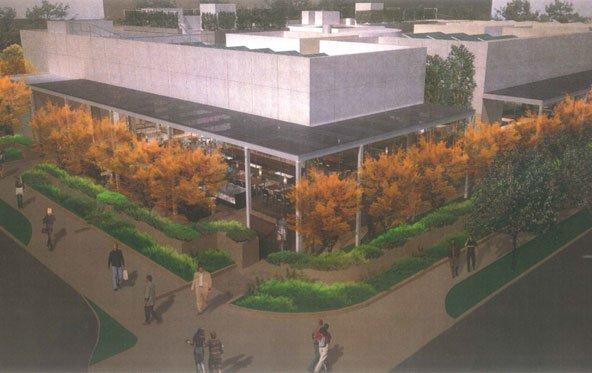 Zum Schutz der Geheimhaltung: Apple plant neue Cafeteria