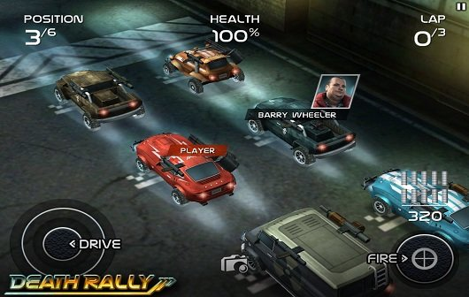 Death Rally: Ab sofort auch für Android