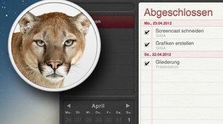 OS X 10.8 Mountain Lion: Folge 2 - Erinnerungen