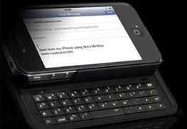 Erstes iPhone fast mit physischer Tastatur erschienen