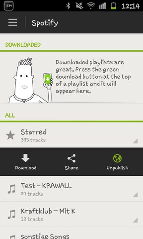 Spotify Android new BETA 20.04 Pic3