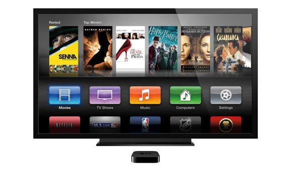 Apple TV Bedienoberfläche