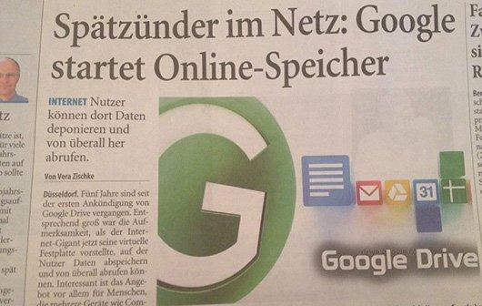 GIGA ist Google Drive: Mitten drin, statt nur dabei!