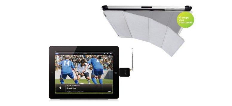 SmartCover-Case und Elgato EyeTV für iPad im Angebot bei Arktis