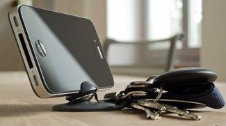 tiltpod: Mini-Stativ für iPhone 4, 4S und Digitalkameras (Test)