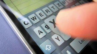 iPhone-Tipp: Großbuchstabe und Zahl mit einem Wisch schreiben