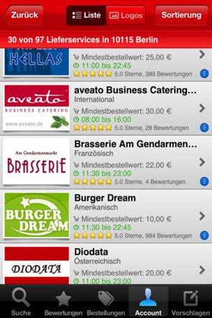 Lieferando App