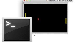 Pong im Terminal spielen: Mac-Tipp