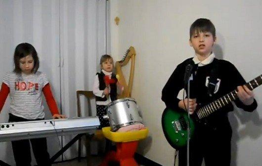 Lieblingsvideo: US-Kinderband spielt Rammstein nach