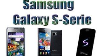 Samsung Galaxy Historie - Vom S1 bis zum S3