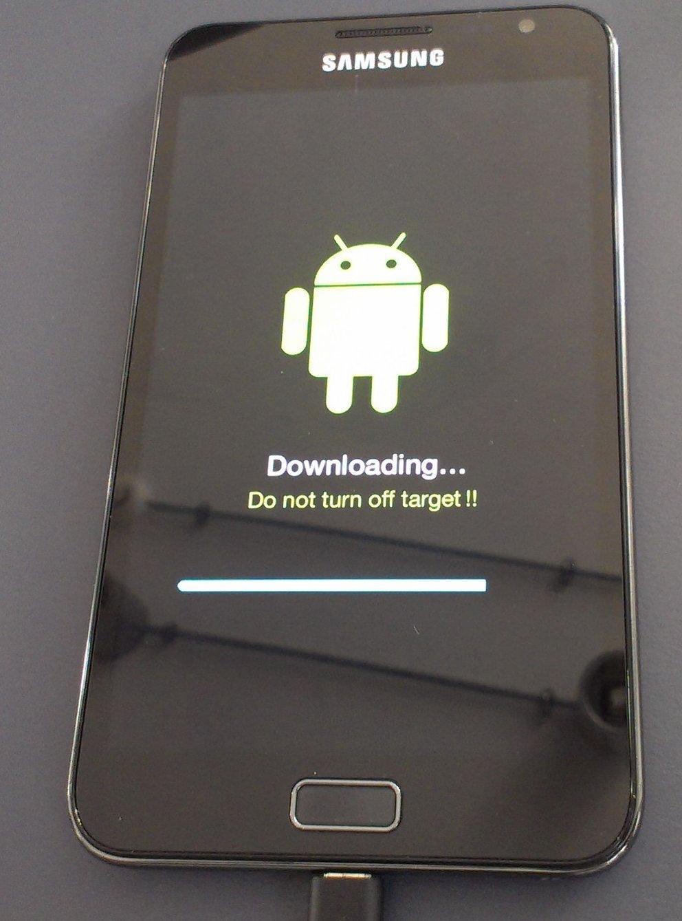 Samsung Galaxy Note Update verfügbar - ICS meldet sich zum Dienst UPDATE