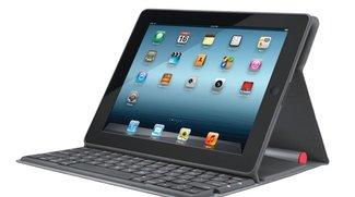 Logitech Solar Keyboard Folio: iPad-Hülle mit Tastatur und Solarzelle