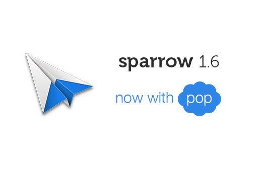 Sparrow 1.6 mit POP-Unterstützung im Mac App Store verfügbar