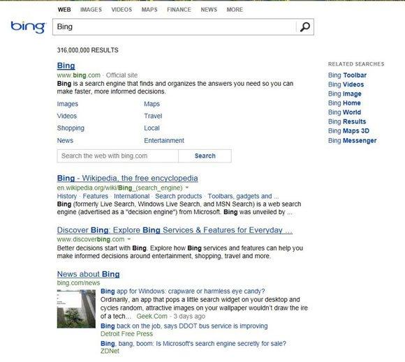 Bing new look