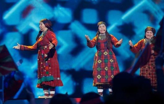 Eurovision Song Contest 2012 - die Sieger des 1. Halbfinales - die Omas und Jedward weiter!