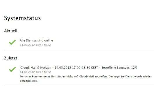 iCloud: Mail-Empfang war gestört - Problem offenbar behoben