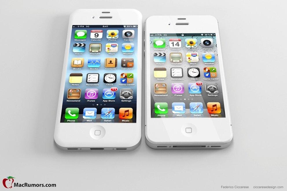 Neues iPhone: So könnte ein 4-Zoll-iPhone aussehen