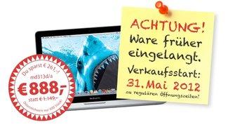 MacBook Pro 13 Zoll: Für nur 888 Euro