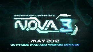 N.O.V.A. 3 - iOS Version ab morgen, Android vermutlich auch