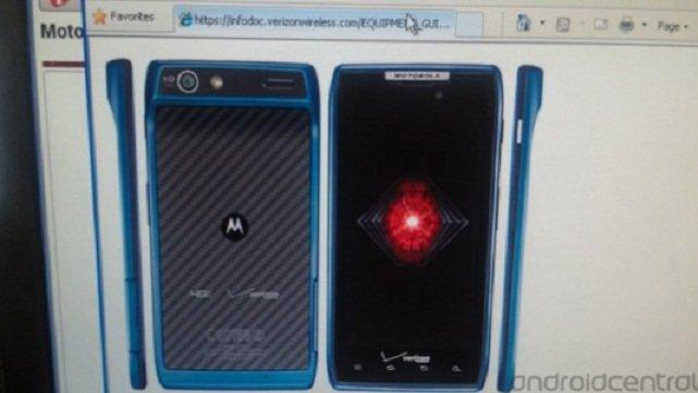 Motorola RAZR : Bald auch in Blau erhältlich