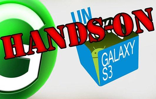Samsung Galaxy S3 Hands-On und erste SGS3 Benchmarks