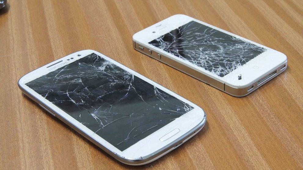 Samsung Galaxy S3 im Falltest