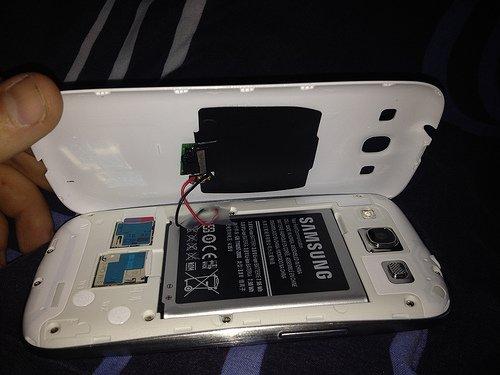 Wireless-Charging für das Galaxy S3 selber bauen