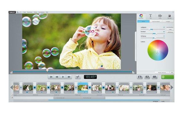 Oberflaeche von MAGIX Video easy HD