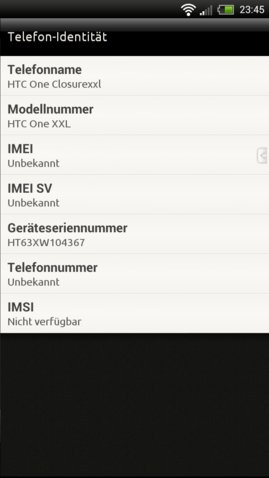 HTC one XXL Screenshot 2
