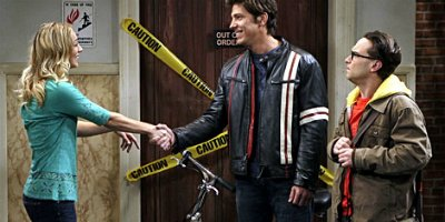 LePenny und Leonard in Staffel 2 von The Big Bang Theory