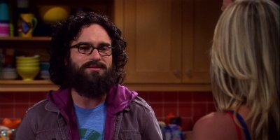 Leonard mit Bart in Staffel 3 von The Big Bang Theory© Warner